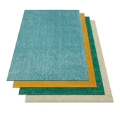 Ikea  Langsted Rugs Pack