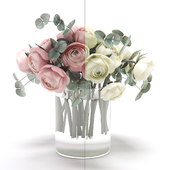 A bouquet of flowers in a vase 28