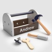 Pottery Barn Kids Personalized Tool Box