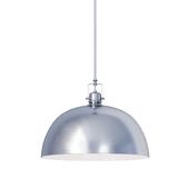 Светильник Southlake 1-Light Bowl Pendant beushed nickel