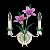 Decorated sconce