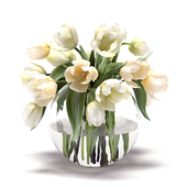 A bouquet of flowers in a vase 29