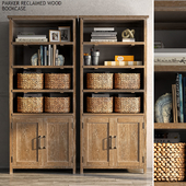 Pottery barn PARKER RECLAIMED WOOD BOOKCASE