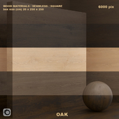 Material wood / oak (seamless) - set 55