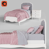 MARCELINE BED WITH LOW FOOTBOARD