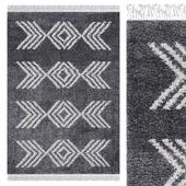 Carpet Think Rugs Boho 8886 Charcoal