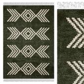 Carpet Think Rugs Boho 8886 Green