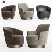 Minotti Jacques Low & High Armchair