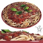 Spaghetti with Sauce (vray GGX)