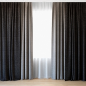 Curtains 48 | Curtains with tulle