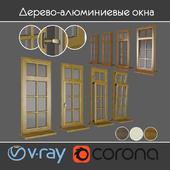 Wood - aluminum windows, view 03 part 01 set 03