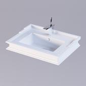 Sanita Luxe Ampir washbasin