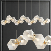 Welles long chandelier