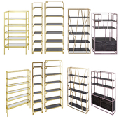 shelving set