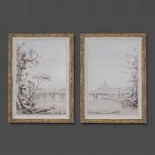 Set of paintings 11
