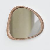 Mid-Century Asymmetrical Wall Mirror