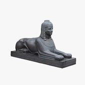 "Sculpture ""Sphinx"" №2"