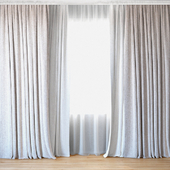 Curtains 55 | Curtains with tulle