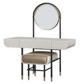 MAKE UP Mirror Work Table with