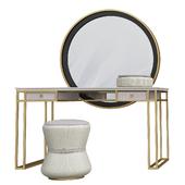 Metal Vanity Table