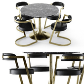 Kelly Wearstler Table and Studio chair