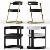 Kelly Wearstler Studio and Zuma Chairs