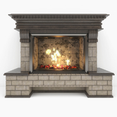 "Fireplace ""Country"""