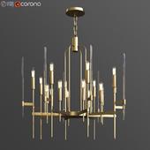 Hudson valley bari chandelier