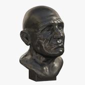 Sculpture - male head 2