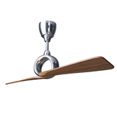Потолочный вентилятор Link Ceiling Fan by Kichler polyshed nickel with wallnut