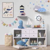 Toys and furniture set 48