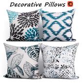 Decorative pillows set 213  Phantoscope