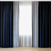 Curtains 62 | Curtains with tulle