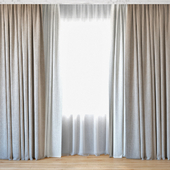 Curtains 64 | Curtains with tulle