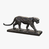 "Sculpture ""Walking Leopard"""