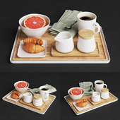 Merge tray coffee set