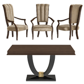 Luxury chair and table