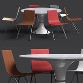 Стол и cтул от Modloft
