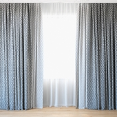 Curtains 69 | Curtains with Tulle | Luum