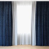Curtains 71 | Curtains with Tulle | Luum