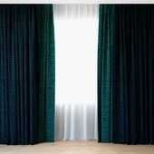 Curtains 72 | Curtains with Tulle | Luum
