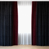 Curtains 73 | Curtains with Tulle | Luum