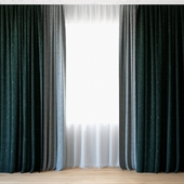 Curtains 74 | Curtains with Tulle | CAMIRA