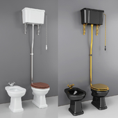 Classic WC and Bidet