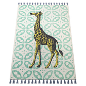 Thomas Paul Printed Gallant Giraffe Tassel 200TATP09A-P