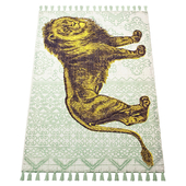 Thomas Paul Flatweave Lion Tassel 200TATP10A