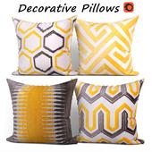 Decorative pillows set 211