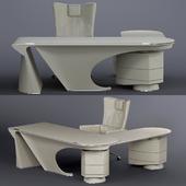 Mascheroni Prior Desk and Splendour armchair
