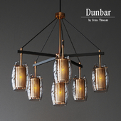Dunbar 6 Light Chandelier | Savoy house