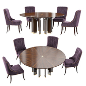 Baker Dining Table & Chair